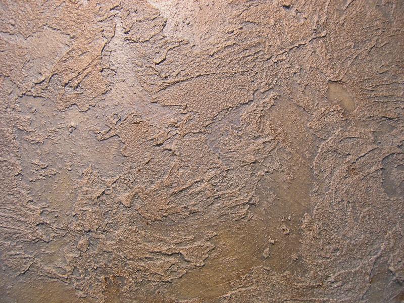 Декоративная штукатурка стен Wandspachtel, штукатурка рельеф